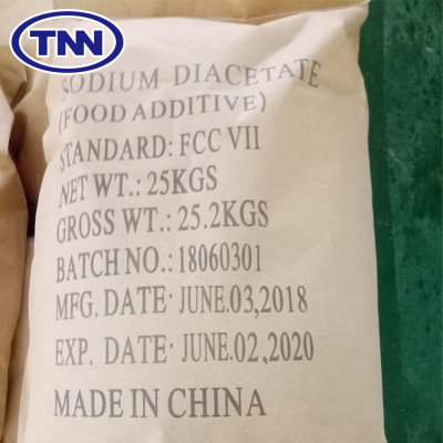 Sodium diacetate SDA feed grade as e262 preservative and anti-mildew agent used in silage feed and livestock