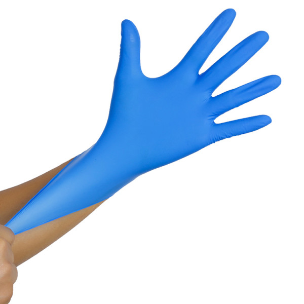 Plastic Disposable Gloves Thick Civilian Anti Bacterial Disposable Hand Gloves Supplier