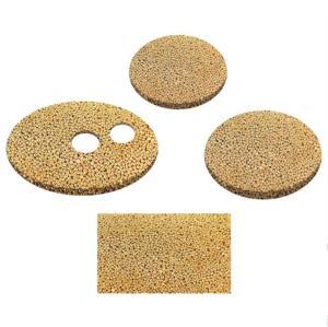Bronze sintered porosity plate