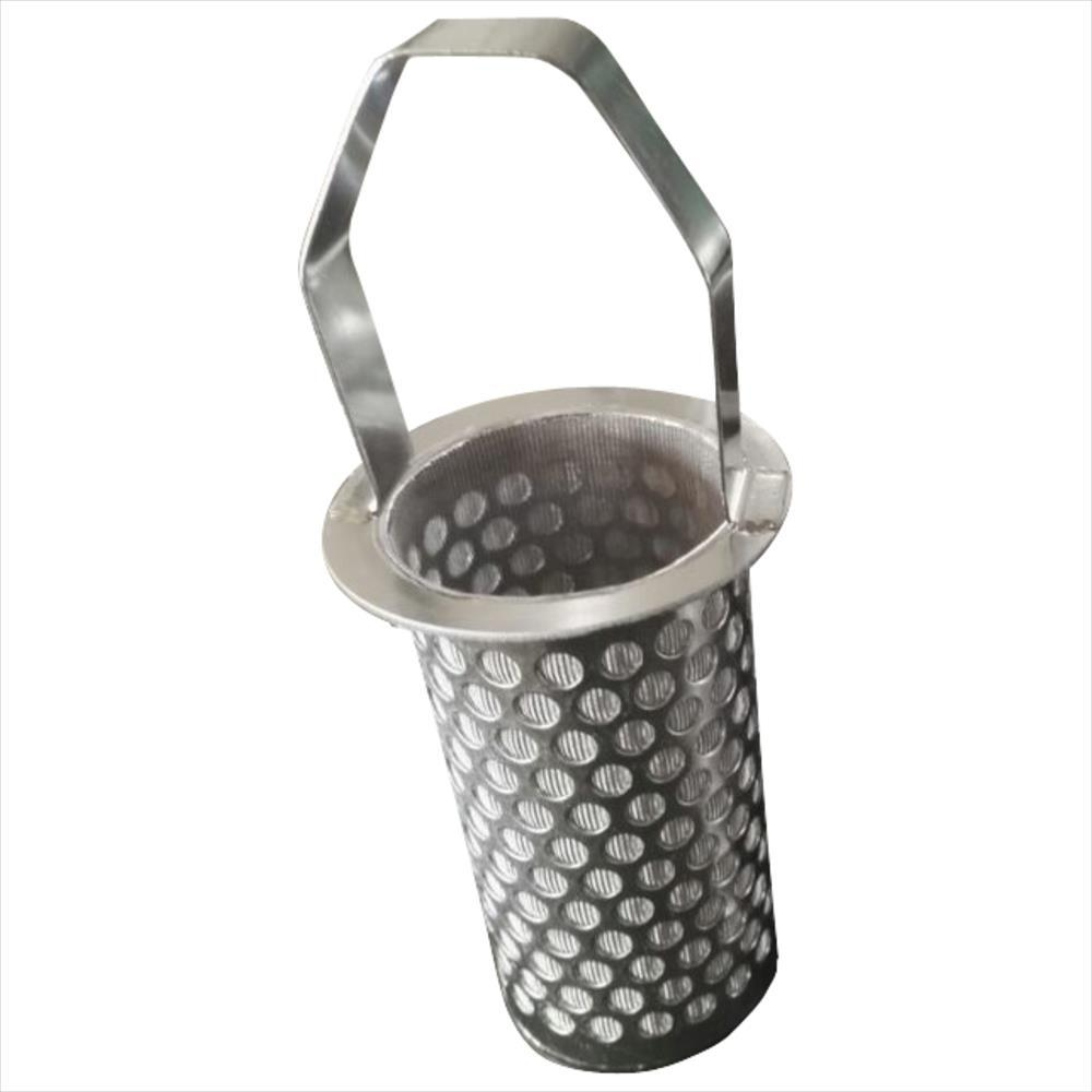 Stainless Steel Sintered Perforated Mesh Filter Basket - china ...