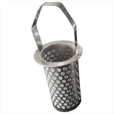 Stainless Steel Sintered Perforated Mesh Filter Basket
