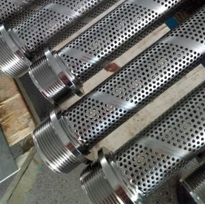 Stainless Steel Spiral Welded Perforated Tube