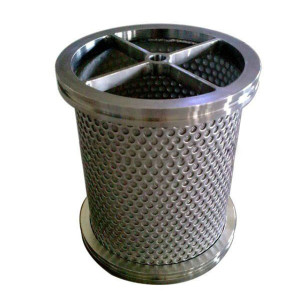 Stainless Steel Water Treatment Filter Cartridge