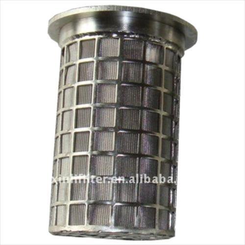 Water Treatment Metal Mesh  Filter Cartridge