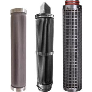Sintered Stainless Perforated Metal Filters for Putty