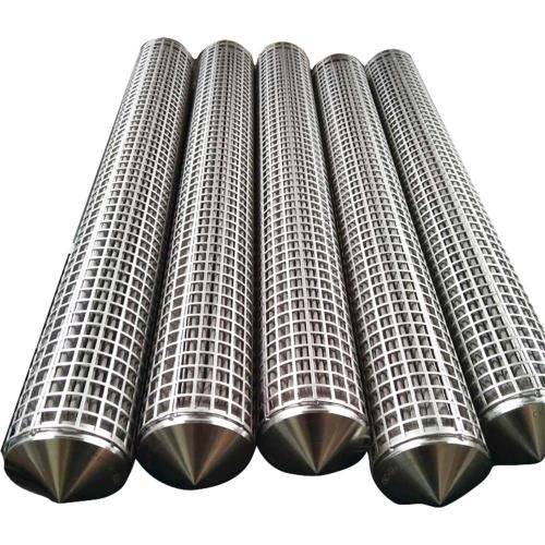 Stainless Steel No-woven Fiber Felt Filter Candle