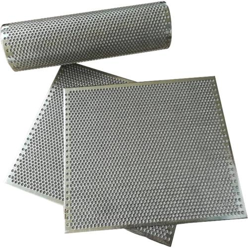 Perforated Sheet Sintered With Wire Mesh Laminate