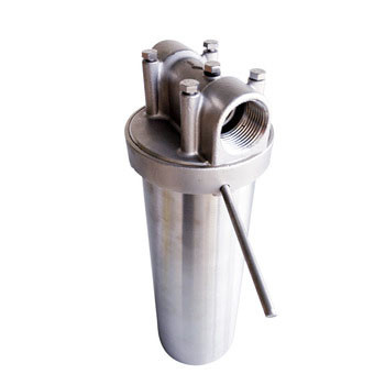 Single filter stainless steel woven wire mesh filter for juice/beverage filtration