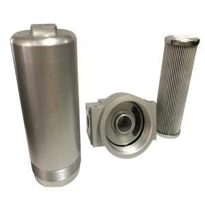 Ultra Fine Stainless Steel Pleated Oil Filter House/Cartridge