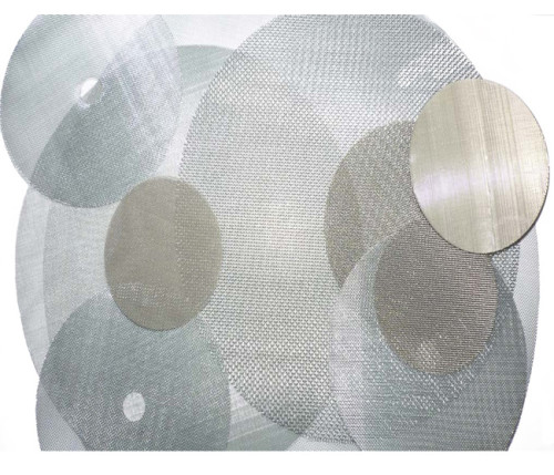 Single Double Layer 304 Stainless Steel Wire Mesh Filter Disc