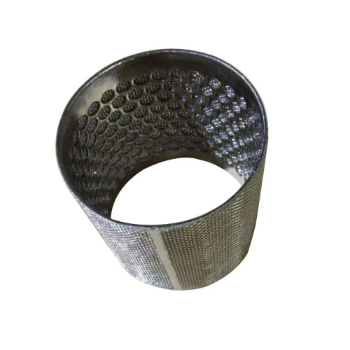 Stainless Steel Perforated Sintered Filter Tube