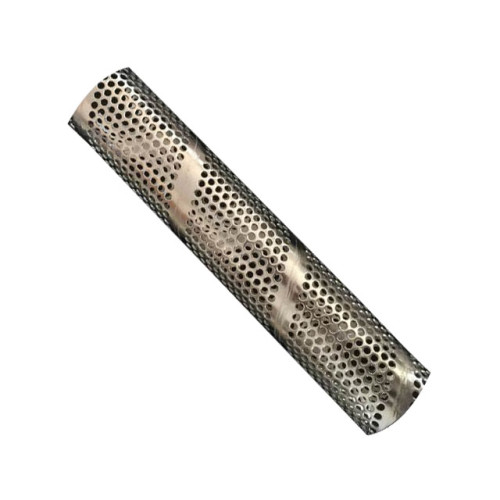 Perforated Metal Stainless Steel 304/316 Spiral Welded Filter Tube
