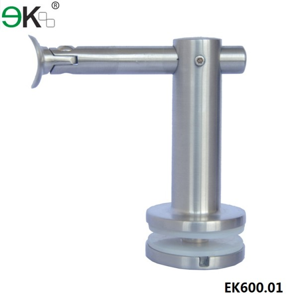 glass stainless steel stair handrail bracket