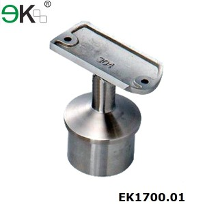 Stainless Steel Fixed Straight Saddle Hand Railing Bracket