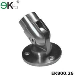 stainless steel adjustable railing base