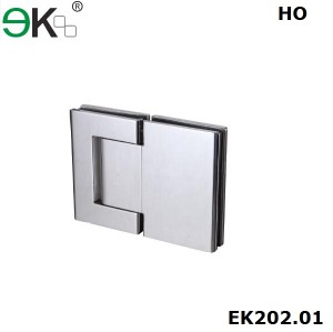 glass to glass fixing hold-open 180 degree hydraulic hinge