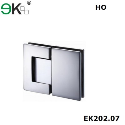 shower hinge glass to glass fixing 180 degree