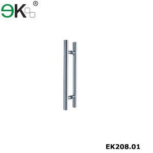 Heavy duty stainless steel glass door handle