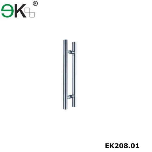 Heavy duty stainless steel glass door handle