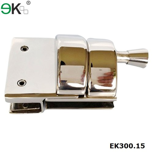 stainless steel front mount pull latch