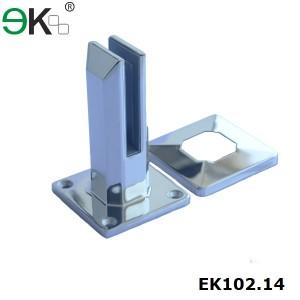 casting frameless glass deck mount spigot