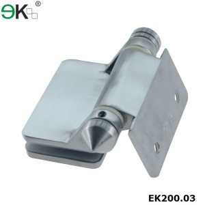 stainless steel glass door heavy load spring hinge