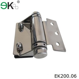 square post to glass type glass door pivot hinge