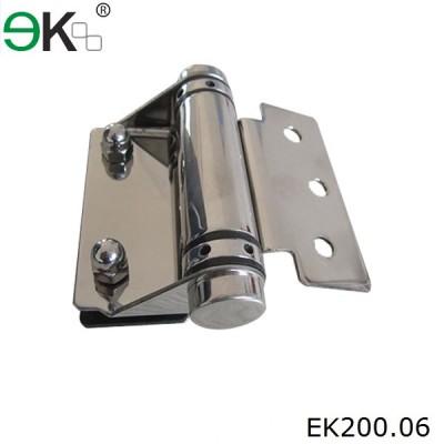 square post to glass type glass door pivot hinge