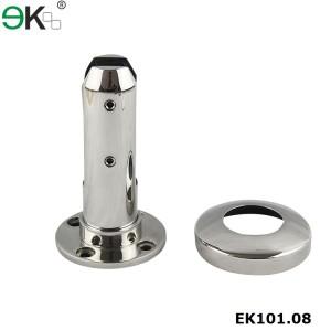 stainless steel face floor mount fixed spigot