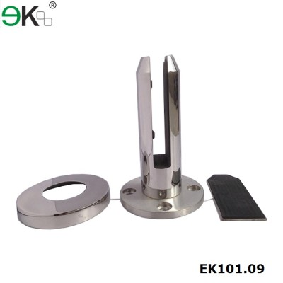 Machined solid bar welding base glass spigot 316