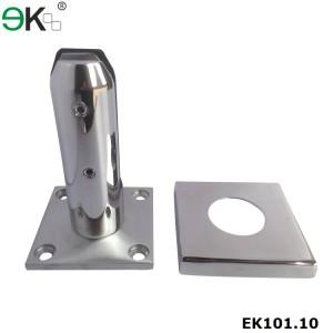base mounted glass spigot for frameless glass balustrade