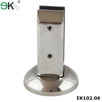 Square Glass Base Plate Clamp