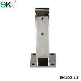 rust resistant frameless glass deck mount spigot
