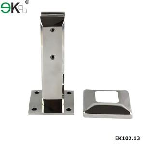 Stainless Steel Frameless Glass Spigots,glass pool fence deck mounting spigot