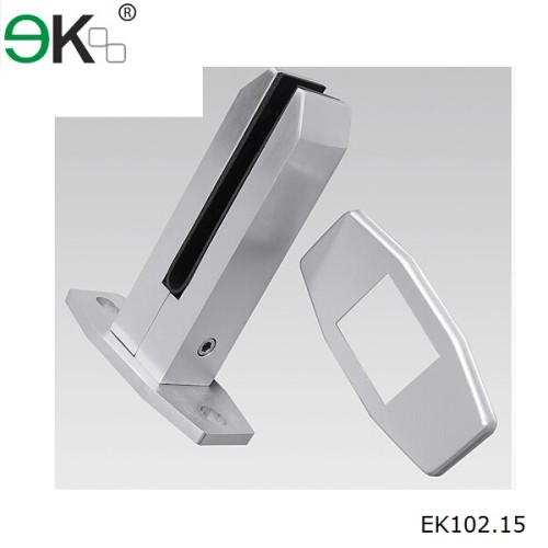 frameless deck mounting anodised aluminium alloy spigot
