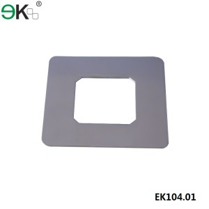 square core drill spigot cover plate