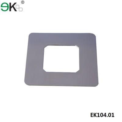 square core drill spigot cover plate