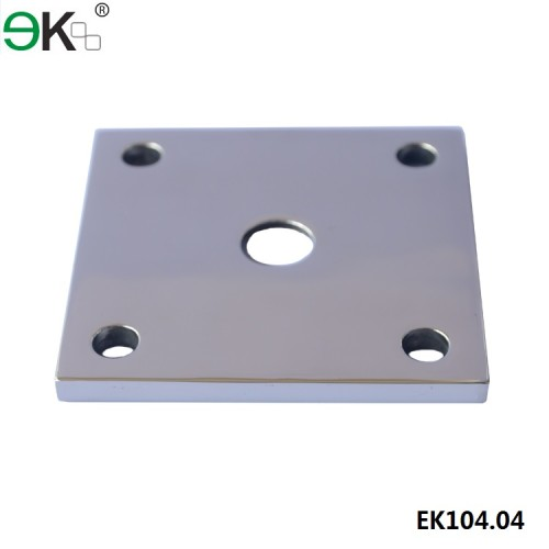 stainless steel square base plate