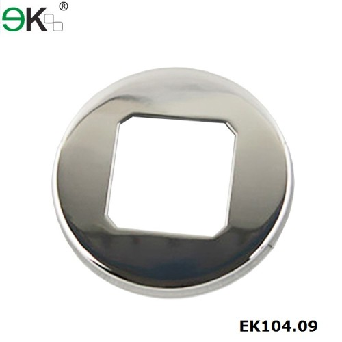 stainless steel round cover for square post