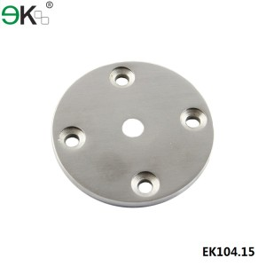 stainless steel round base plate