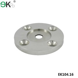 stainless steel thick round base plate