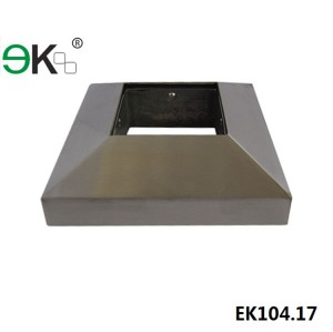 stainless steel post base cover