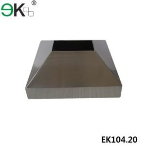 Stainless Steel Rectangular Post Over