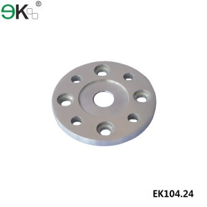 stainless steel 9 holes round base plate