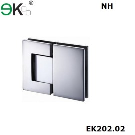 glass to glass fixing non-hold 180 degree hydraulic hinge