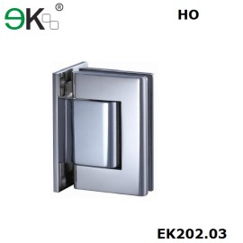 wall to glass fixing hold-open T Type hydraulic glass hinge