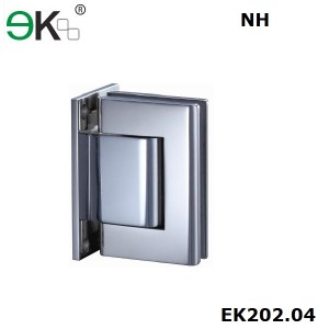 wall to glass fixing non-hold 90 degree hydraulic hinge
