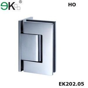 wall to glass fixing hold-open 90 degree L type hydraulic hinge