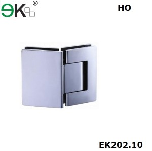 shower hinge glass to glass fixing hold-open 135 degree