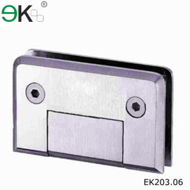 stainless steel wall to glass hinge for doors